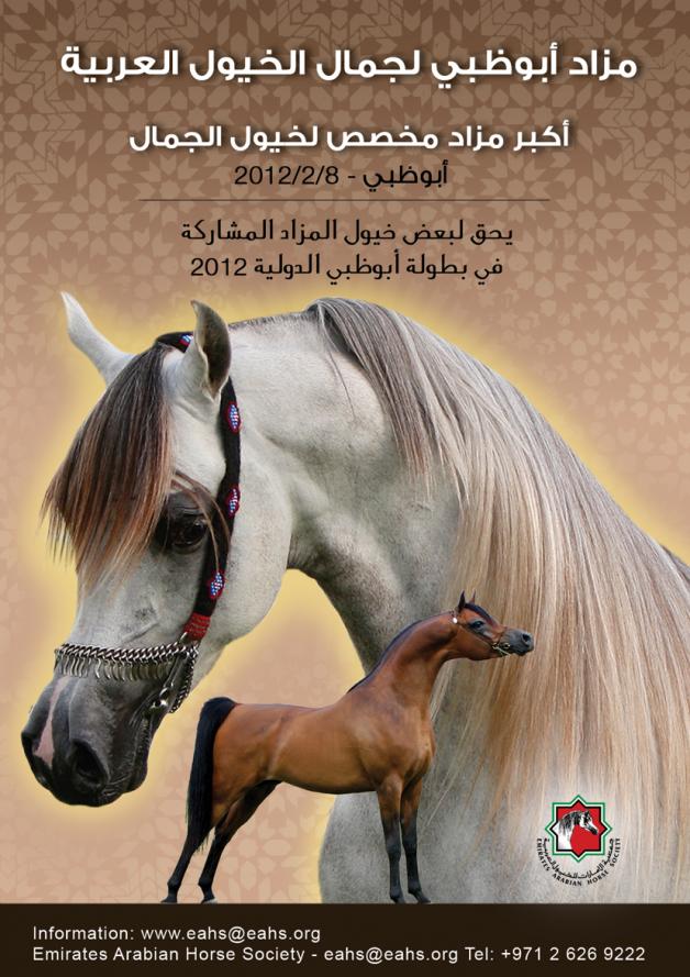 مزاد ابوظبي لجمال الخيول العربية ٢٠١٢