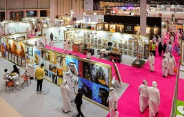 عشرات الآلاف من الزوار من كافة دول الخليج، في معرض أبوظبي الدولي للصيد والفروسية 2019