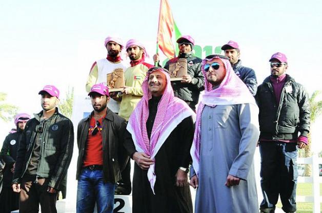 الإماراتيون يكسرون الاحتكار السعودي ويفوزون بكأس (الخالدية) للقدرة والتحمل