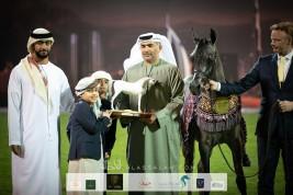 Al Aryam Stud keeps on shining in 2020 Ajman Arabian Horse Show and wins Leading UAE Stud Farm Award
