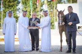 ذهبيتان وفضية وبرونزيتان لمربط عجمان في بطولة أبوظبي الدولية 2020