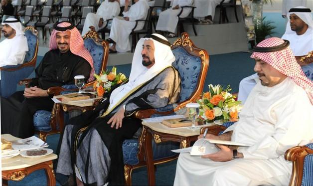 سلطان القاسمي يشهد مهرجان الشارقة للجواد العربي