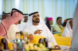 محمد بن راشد يتوج أبطال «دبي الدولية» للجواد العربي