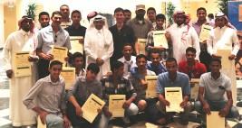 مركز الملك عبدالعزيز بـ(ديراب) ينجح بتقديم دورات تدريبية لما يزيد عن ١٠٠مالك و مربي في المملكة