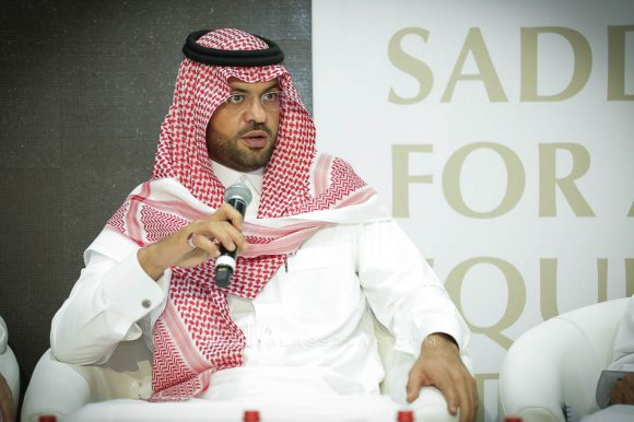 الامير فهد بن خالد متحدثا في المؤتمر