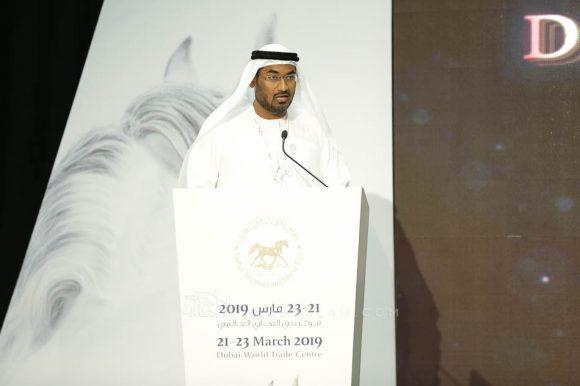 عمشان يخاطب المؤتمر