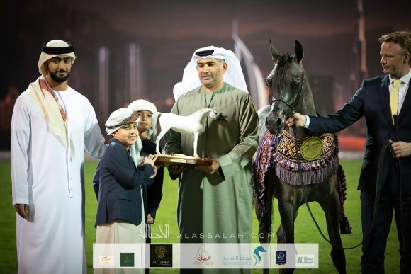 Al Aryam Stud keeps on shining in 2020 Ajman Arabian Horse Show and wins Leading UAE Stud Farm Award