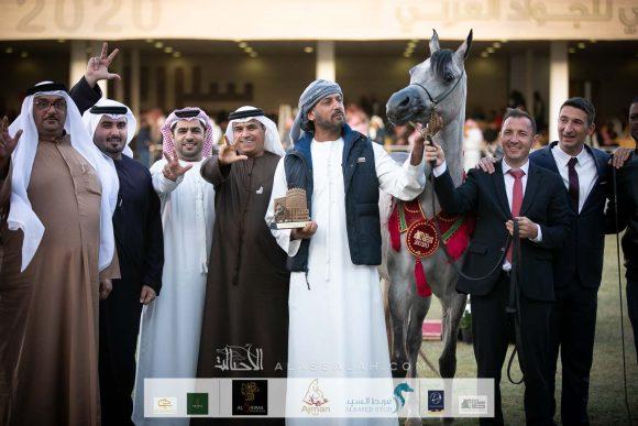 دي شيهانة (اف ايه الرشيم   x دي شيلا) مربط دبي – الإمارات.