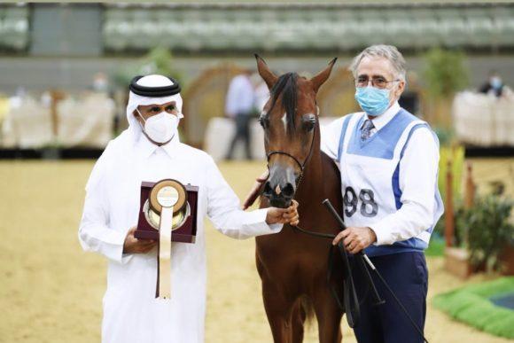"""""""غيث الشقب"""" يحرز فضية الأفلاء في أول ايام بطولة قطر الوطنية الـ 23"""