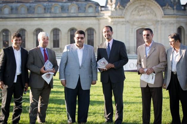 نجاح عربي في تنظيم بطولة «المربين الأوروبية لجمال الخيل»