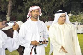 مربط دبي يظفر بالذهب والفضة والبرونز في بطولة الإمارات الوطنية