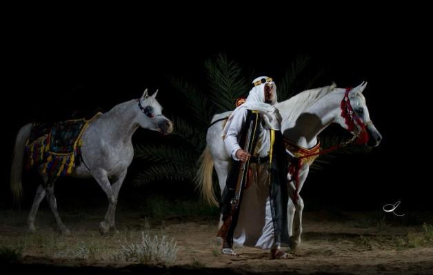 باراسكيفيس ومرجعية الخيل العربية
