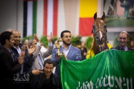 مقتطفات اليوم الختامي لبطولة كأس كل الأمم لجمال الخيل العربية آخن ٢٠١٤