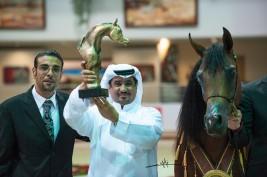 المعود، يشرق بذهبية في عاصمة السياحة العربية الشارقة