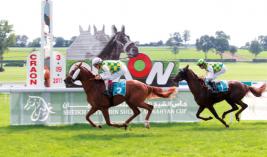 «غالب» ينتزع كأس زايد للخيول العربية