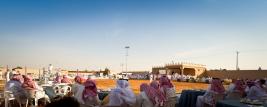 بالصور تغطية مزاد مزرعة الخالدية للخيل العربية الأصيلة بمربط التنهات