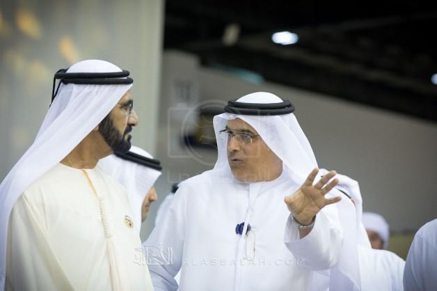 محمد بن راشد يزور معرض دبي الدولي والبطولة الدولية للجواد العربي ٢٠١٧