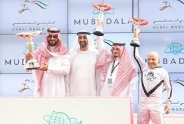 """ضمن أمسية كأس دبي العالمي """"طلاب الخالدية"""" يهدي السعودية لقب كحيلة كلاسيك"""