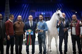 نتائج اليوم الأول لبطولة العالم باريس 2018  لجمال الخيل العربية الأصيلة
