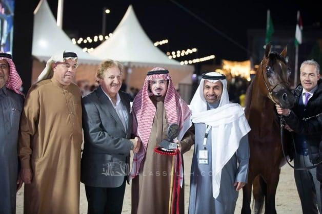 نتائج اليوم الثانيلبطولة الشرقية الدولية لجمال الخيل العربية الأصيلة 2019