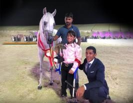 Great gesture by Nabil Al Sobhi and Al Khalid Stud