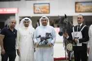 EKS Farajj for AL Khashab Stud claims the silver in the Sharjah International Arabian Horse Festival