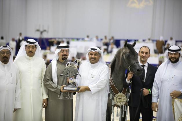 الواعد «فراج» يهدي مربط الخشاب فضية دبي الدولية 2019