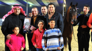وسط أجواء تنافسية و برعاية منظمة الجواد العربي اقيمت البطولة الاولى للمربين في مصر