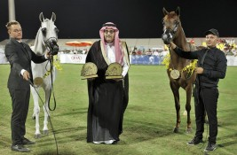 Athbah Stud scores hat trick in 10th Saudi National Championship Show in Al Ahsa