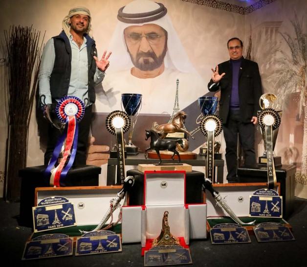 مربط دبي يزين العام 2019 بأمجاد ذهبية