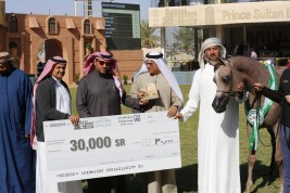 خيول «دبي» تفرض نفساها بقوة وتحجز اربع مقاعد تؤهلها لألقاب مهرجان الأمير سلطان العالمي 2020 للجواد العربي