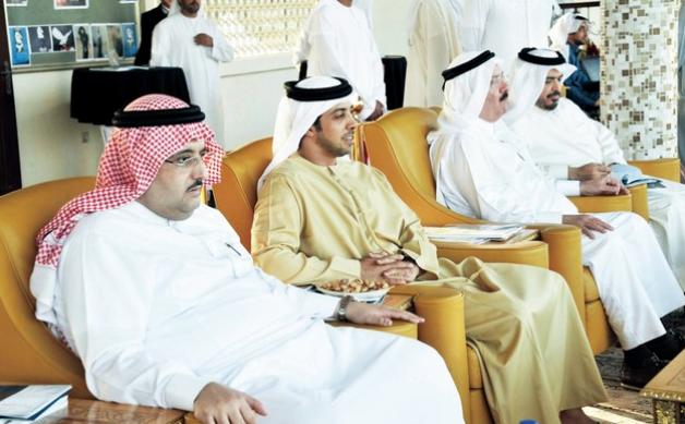 محمد بن زايد يشهد حفل ختام بطولة أبوظبي الدولية لجمال الخيول العربية