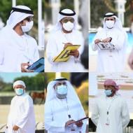 اشادة وتميز التحكيم الإماراتي الخالص للبطولة الوطنية 2020 للخيول العربية