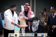 فراس أكمل يهدي مربط أكمل فضية أمهار السنةفي بطولة المملكة لجمال الخيل العربية (كحيلة) 2021