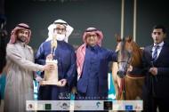 ذهب وفضة لمربط السيد في بطولة المملكة لجمال الخيل العربية (كحيلة) 2021