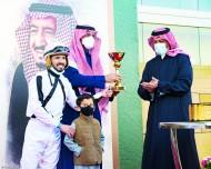 متوكل الخالدية يتزعم سباقات الخيل العربية