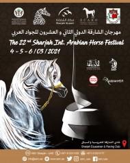 """مهرجان الشارقة الدولي """"22"""" للجواد العربي يوم الخميس المقبل"""