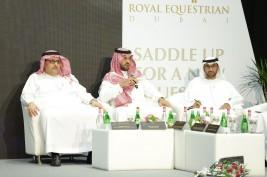 """برعاية حمدان بن راشد انطلاق النسخة الرابعة لمؤتمر دبي الدولي للفروسية الخميس المقبل بشعار """" فروسية آمنة في زمن الجائحة """""""