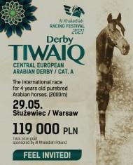 """""""ديربي طويق"""" برعاية إسطبلات الخالدية يوم السبت ببولندا"""