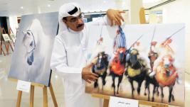 «خيول عربية» .. بعدسات المصورين