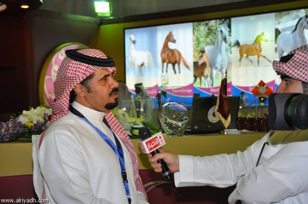 «المعود» يكمل استعداده للمشاركة في مهرجان الأمير سلطان للجواد العربي