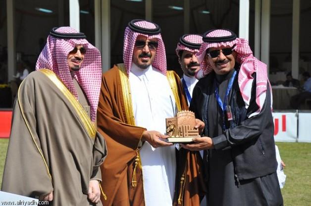 المعود: للأمير خالد بن سلطان دور كبير في دعم الجواد العربي والنهوض به