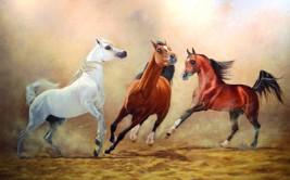 «الموريات».. فنان أغوتــه الخيول
