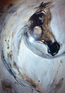 مدلولات الخيول العربية في الثقافة البصرية